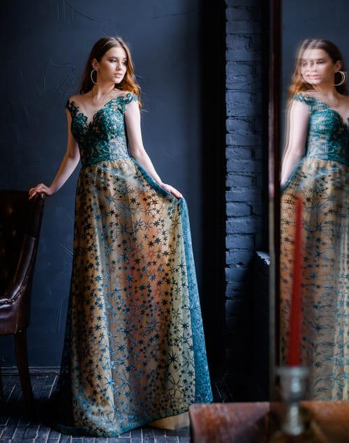 вечірнє плаття зелене