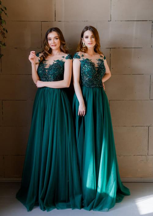фатинові плаття для дружок