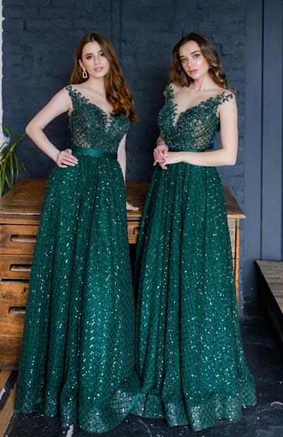 пишні вечірні плаття