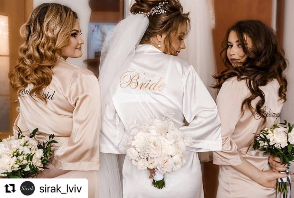 [:uk]халати для ранку нареченої кремові[:]