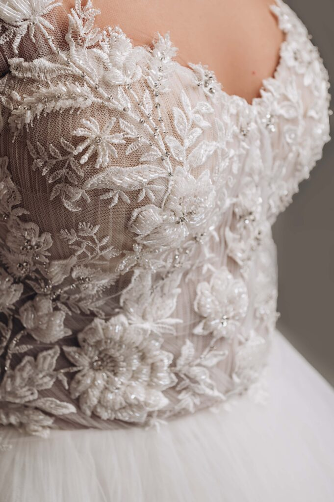 весільна сукня 3д
