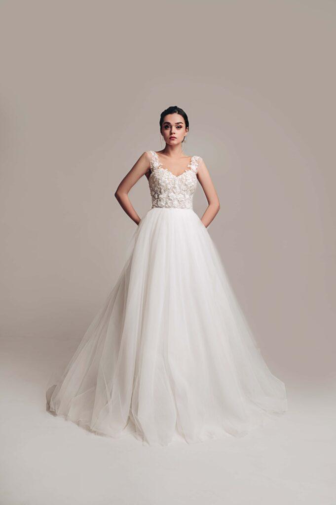 3д весільна сукня